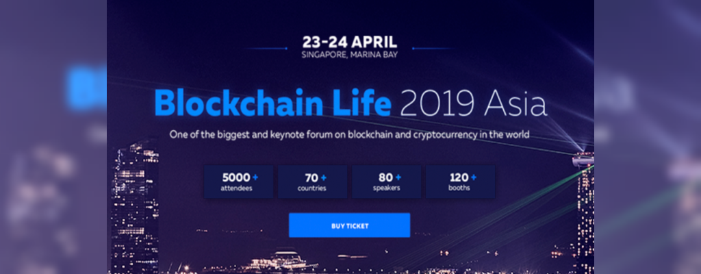 3rd Global forum Blockchain Life comes to Singapore