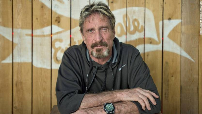 John McAfee special guest on Jena Friedman's Soft Focus