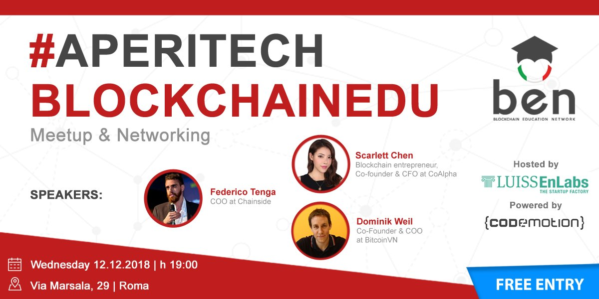 Bitcoin Meetup in Rome with Chainside, BitcoinVN and CoAlpha