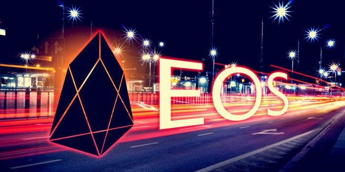 EOS Trading volume in decline