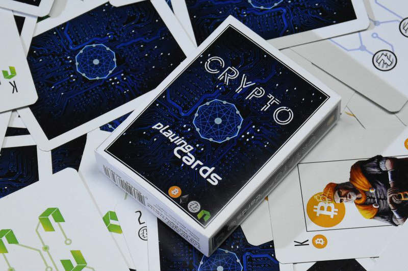 Crypto Poker, cryptocurrency-themed playing cards