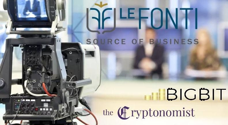 Le Fonti TV, a blockchain event in Milan on March 6