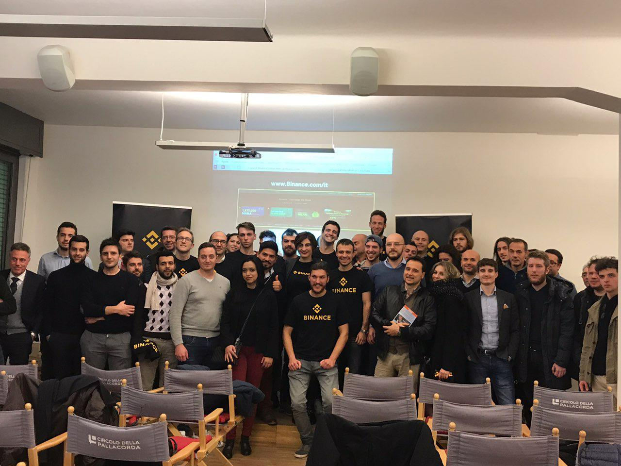 Binance Meetup Milan: future developments of the crypto exchange