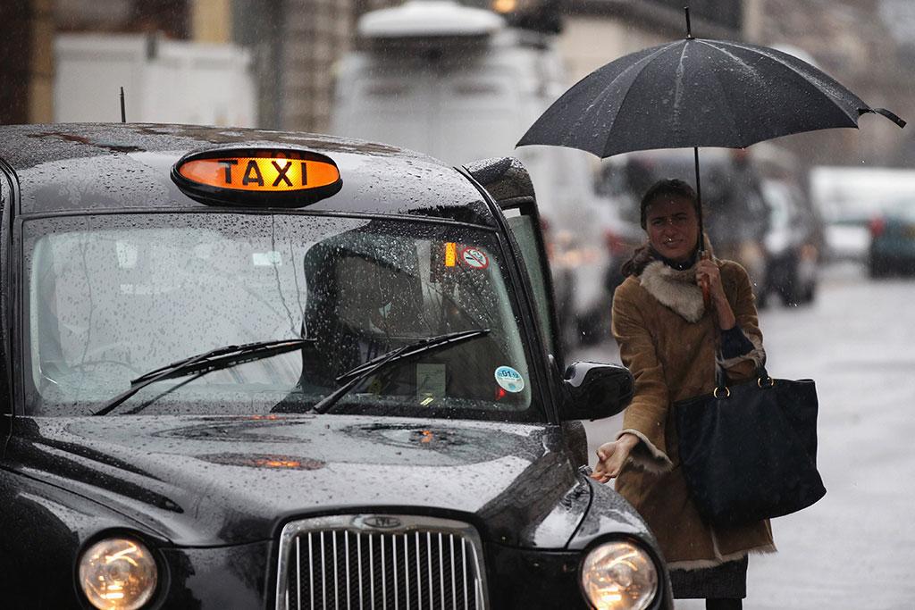 Bitcoin for sale on a London taxi