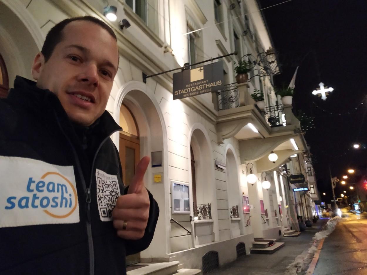 """Vitus Zeller: the """"Tour de Satoshi"""" to celebrate 10 years of bitcoin"""