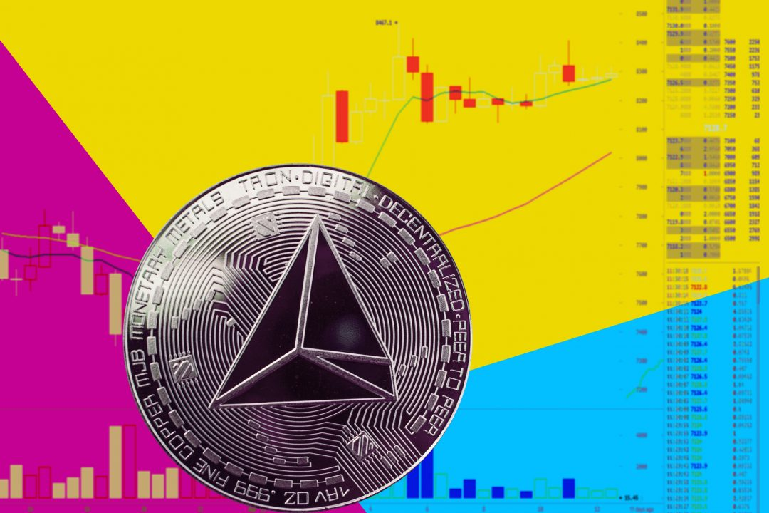 Tron (TRX), the price of the cryptocurrency stands on the podium