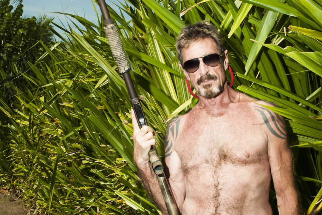 John McAfee escapes from the US because of a tax problem