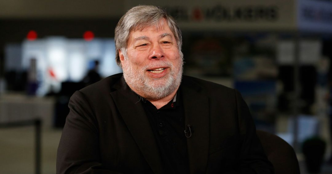 """Steve Wozniak: """"Bitcoin could become a store of value"""""""