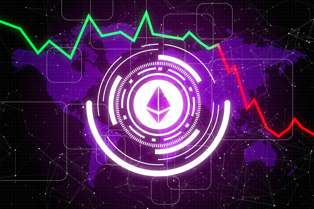 Ethereum trading volumes are declining