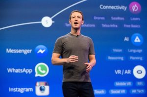 Mark Zuckerberg: Facebook is now studying blockchain-based solutions