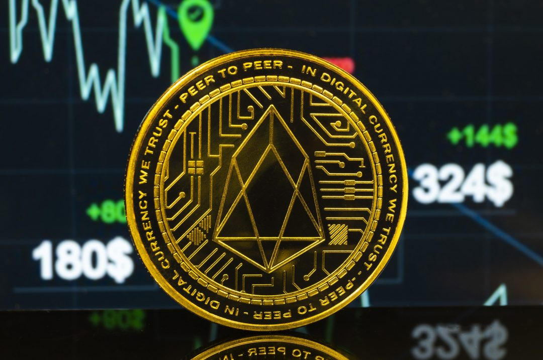 Double-digit rise for the price of Ethereum and EOS