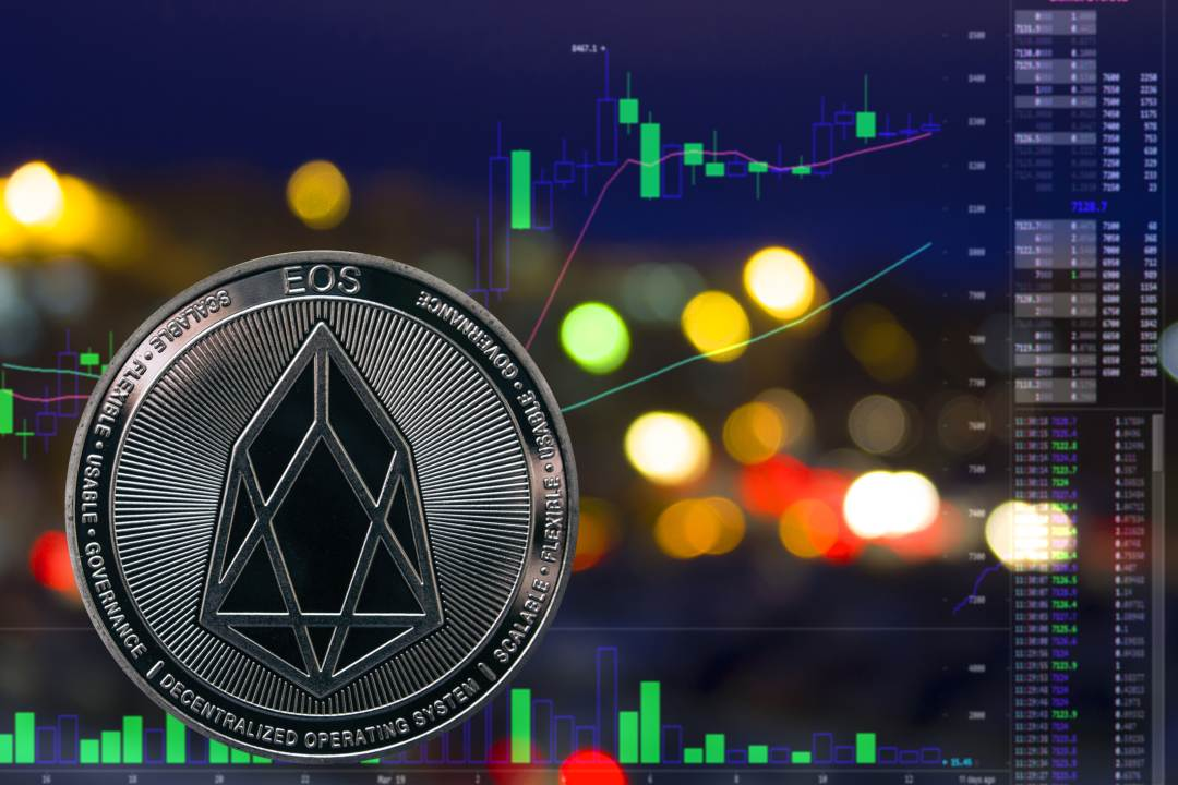 EOS: the market cap of the crypto is almost 4 billion