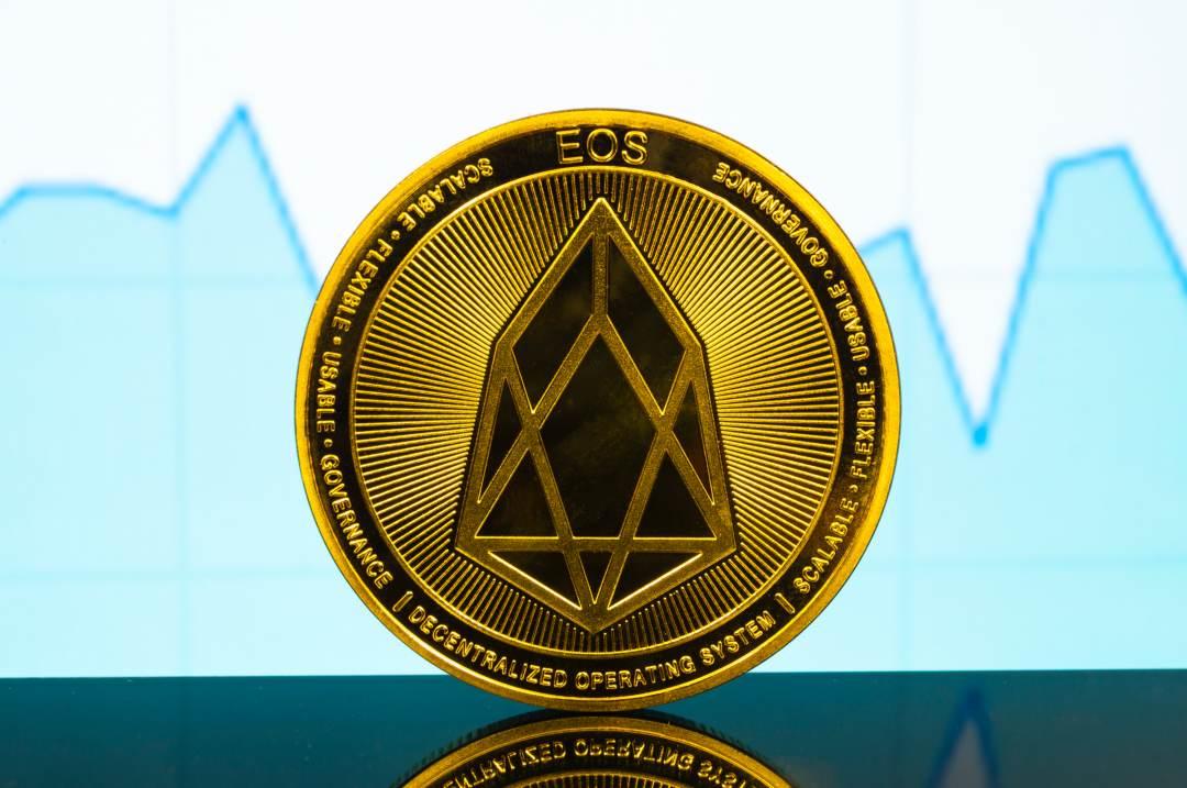 EOS price analysis: the crypto rises by 12%