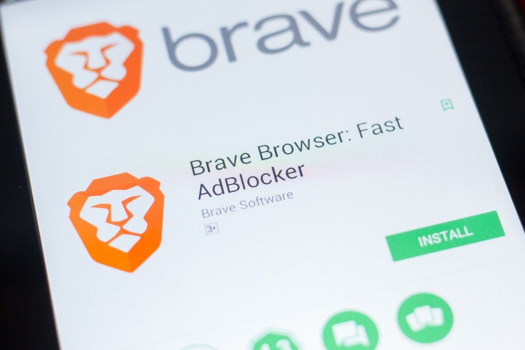 Larry Sanger of Wikipedia uses the Brave Browser