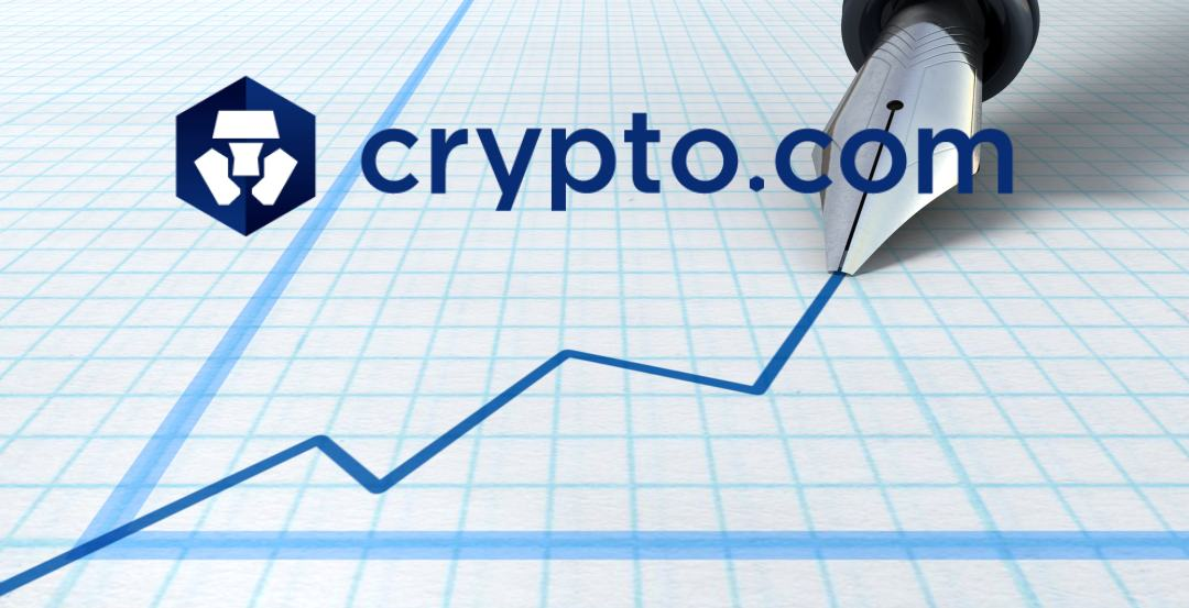 Crypto.com chain price rises by 450%