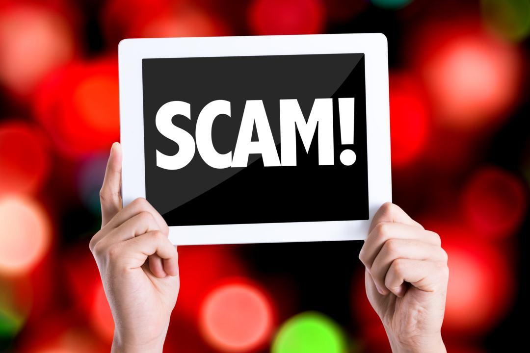 Scam site disseminated through EOS transaction memos
