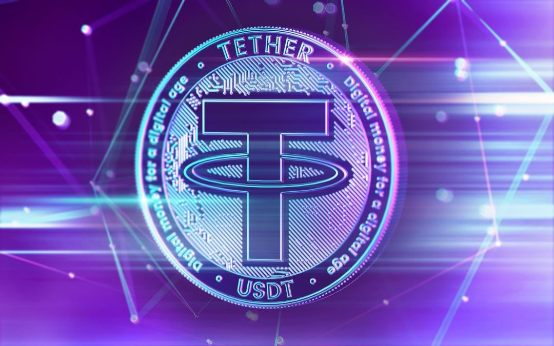Tether: record of daily transaction volumes