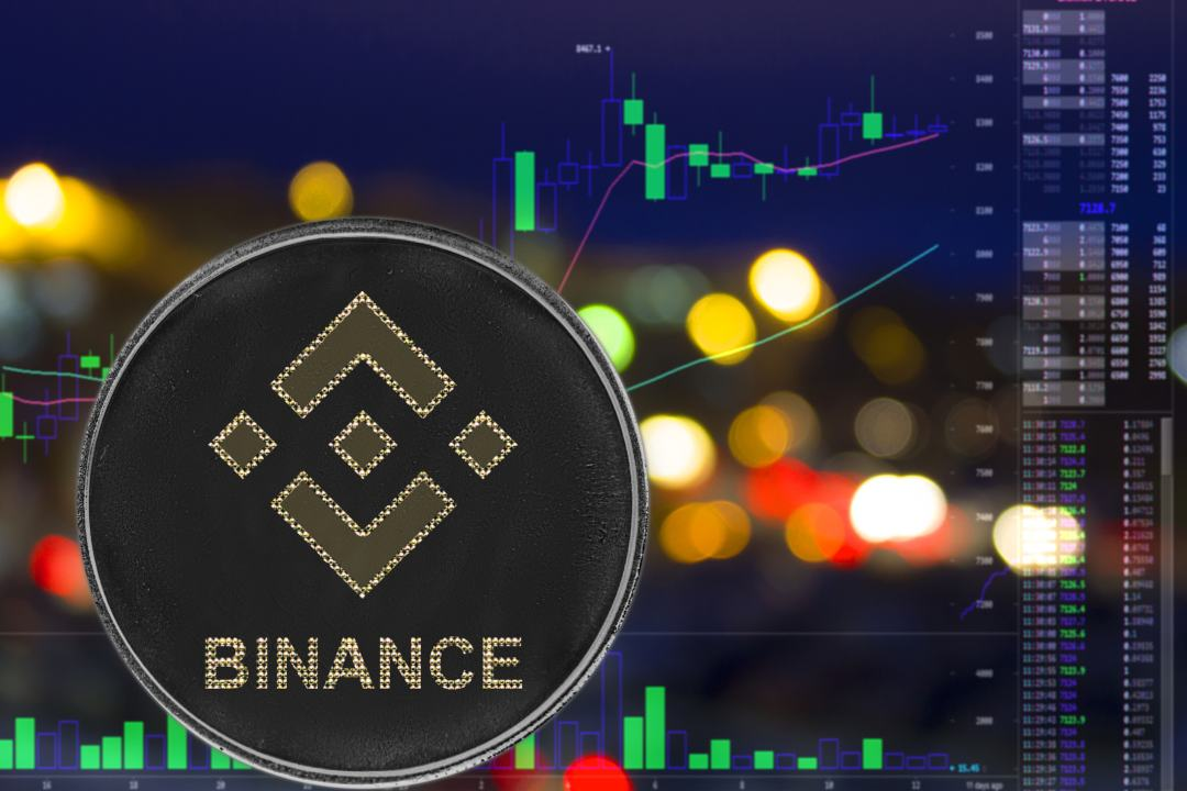 binance coin today news price