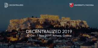 decentralized 2019 athens