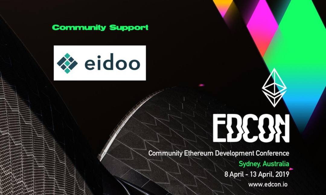 Eidoo and Provable at the EDCON 2019 event