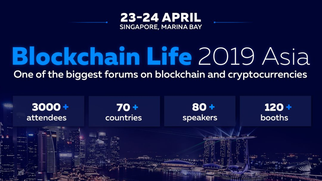 Binance and Huobi speak at Blockchain Life 2019