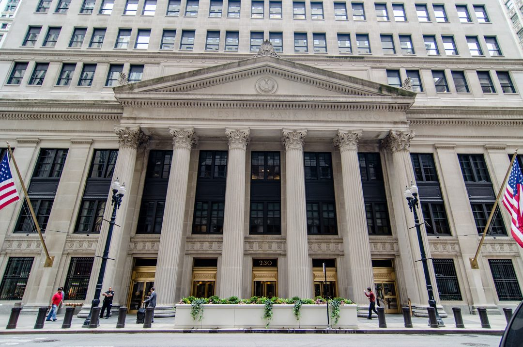 Federal Reserve goes offline. And Bitcoin rises