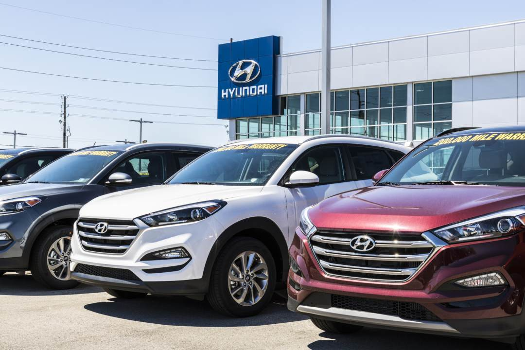 Hyundai AutoEver: used cars on blockchain