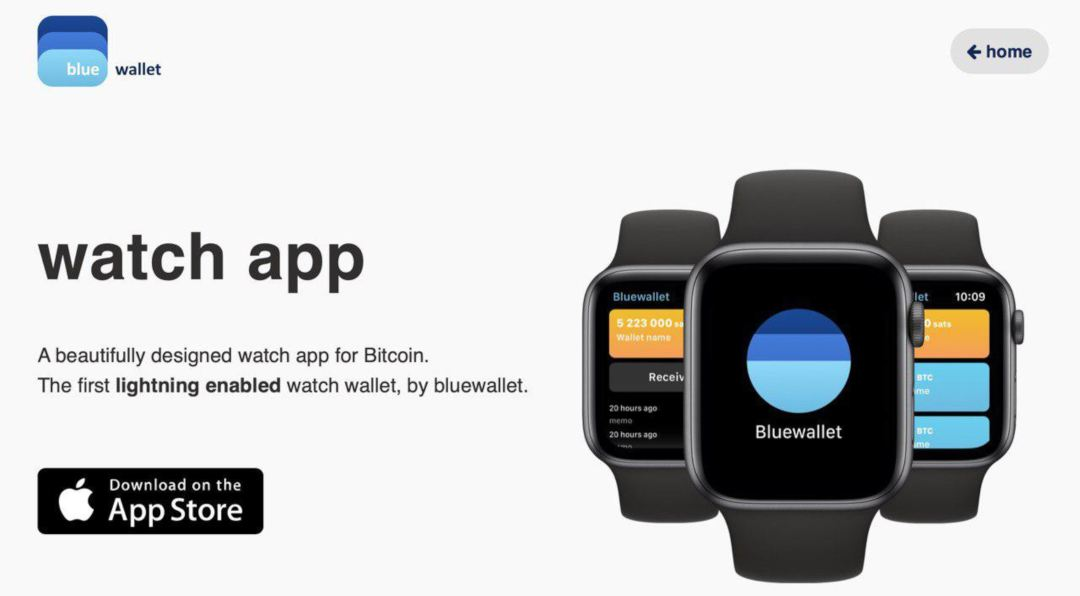 Bluewallet releases Bitcoin Lightning Network wallet for Apple Watch