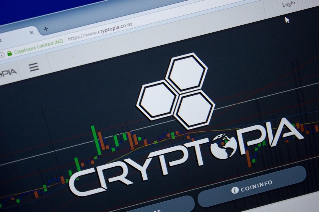 Cryptopia website down