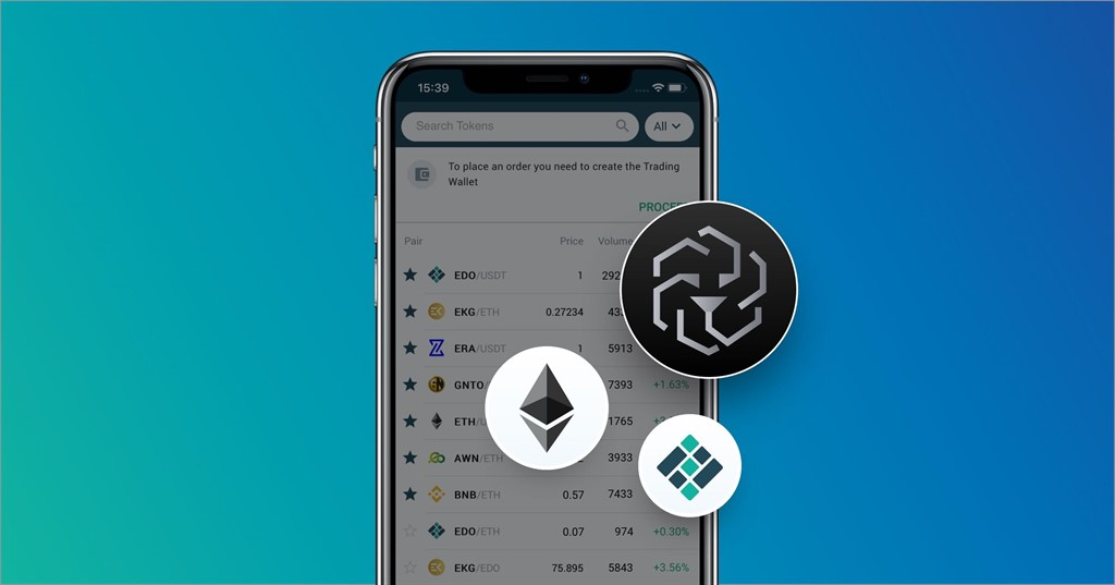 Eidoo: how to buy LEO tokens on the app