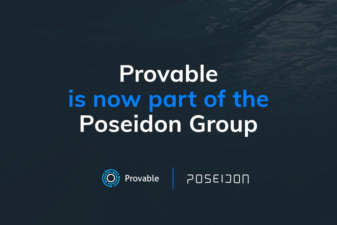 Provable (formerly Oraclize) joins Poseidon Group