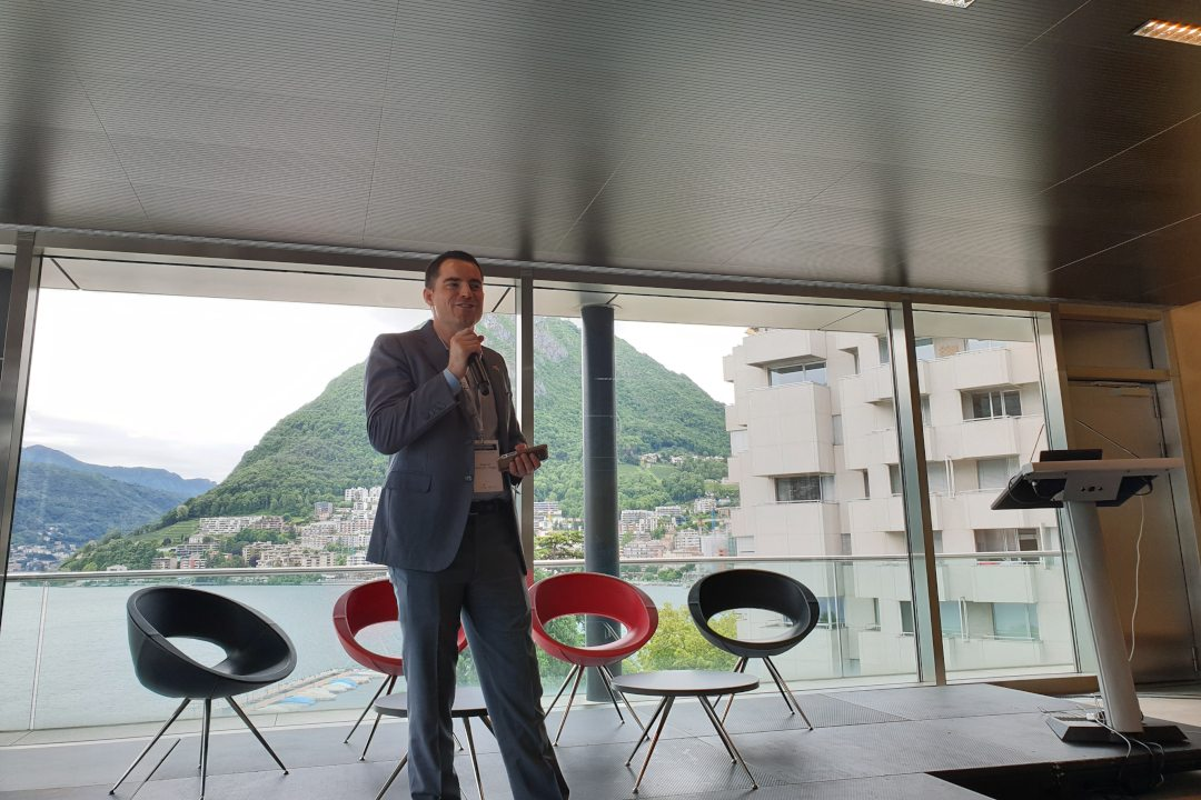"Roger Ver in Switzerland: ""Cryptocurrency will change the world"""