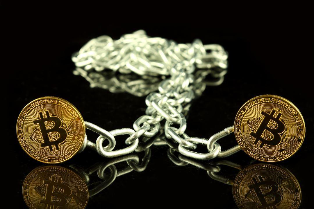 An orphan block on the bitcoin (BTC) blockchain