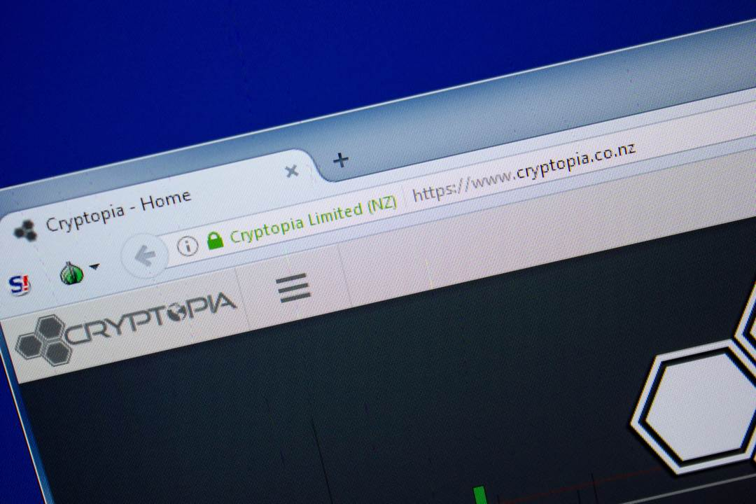 Breaking news: Cryptopia closes down