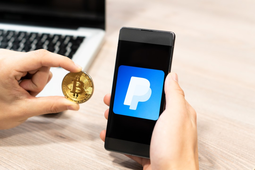 PayPal Bitcoin business