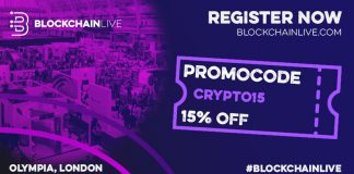 blockchain live london olympia september