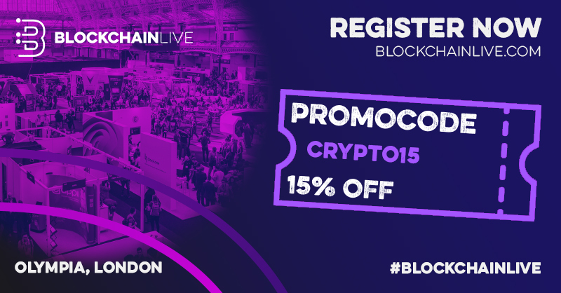 Blockchain Live Returns to London Olympia in September