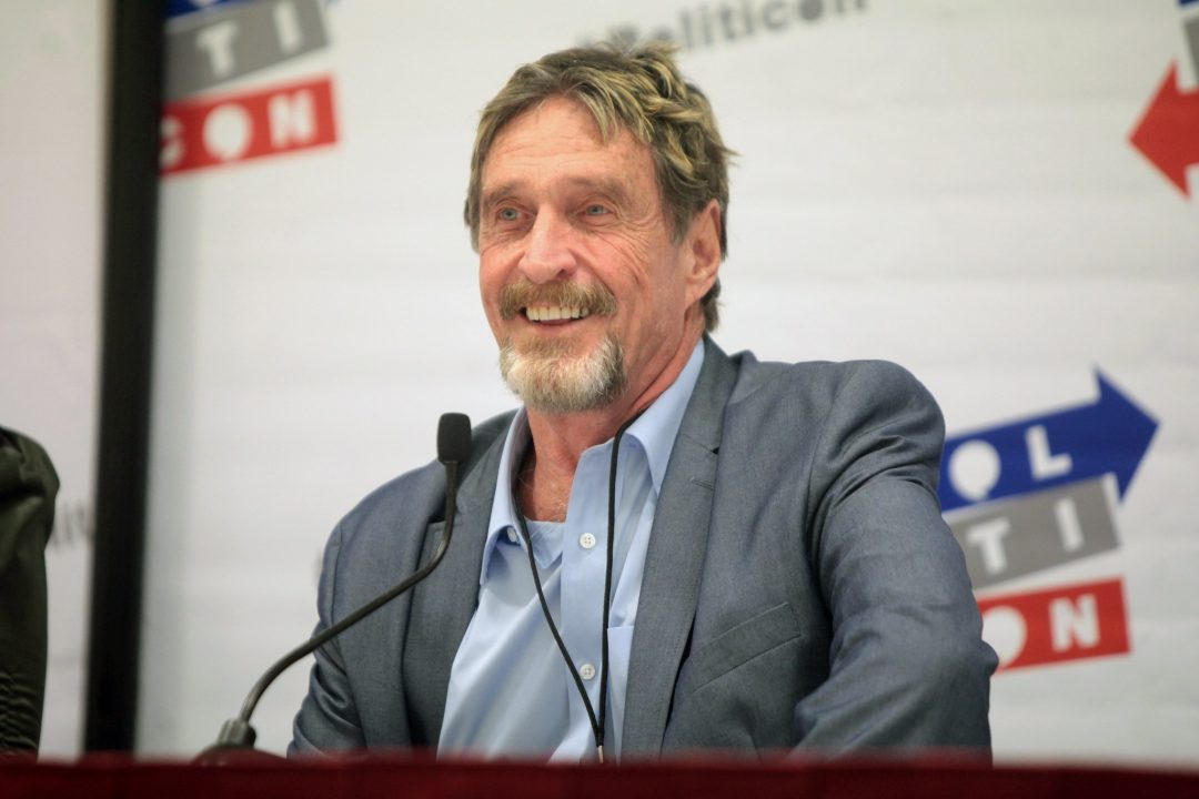 McAfee launches his crypto trading platform