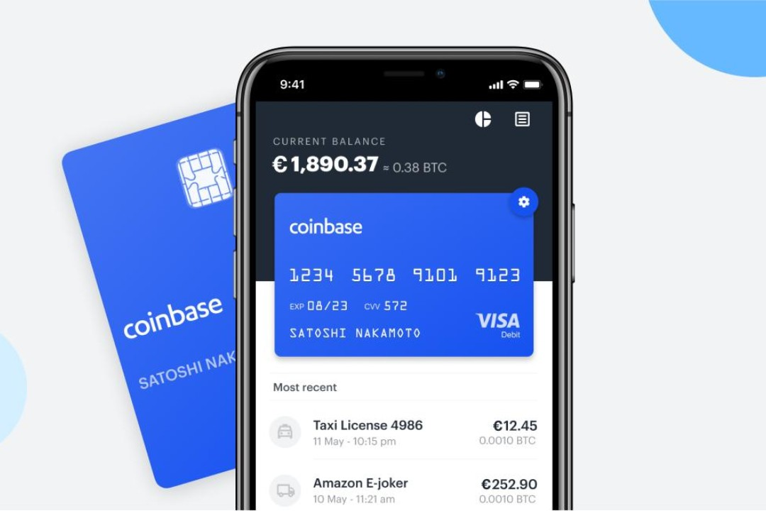 Coinbase Card arrives in six European countries
