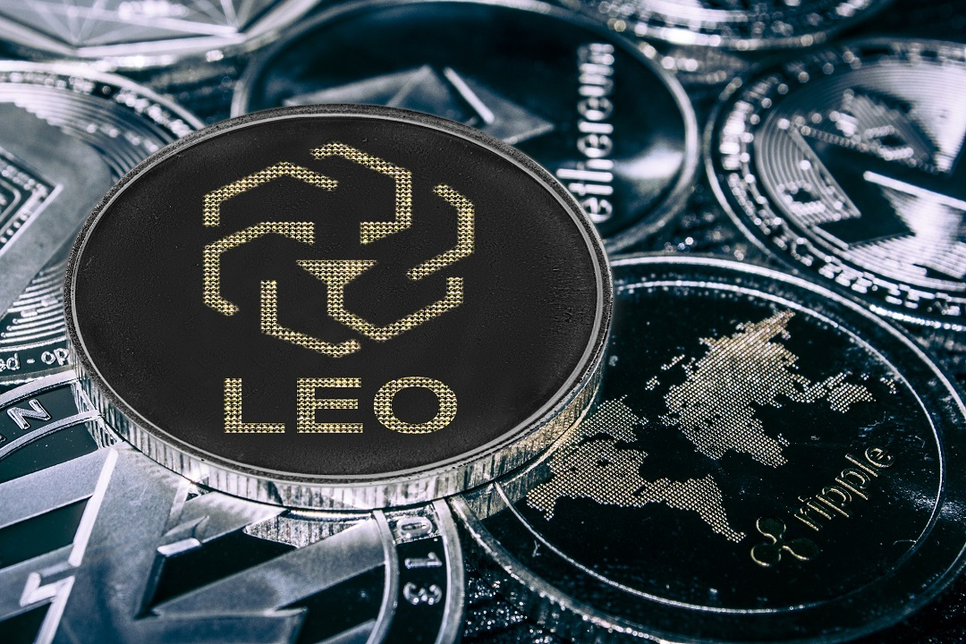 LEO token on the OKEx exchange. And OKB on Bitfinex