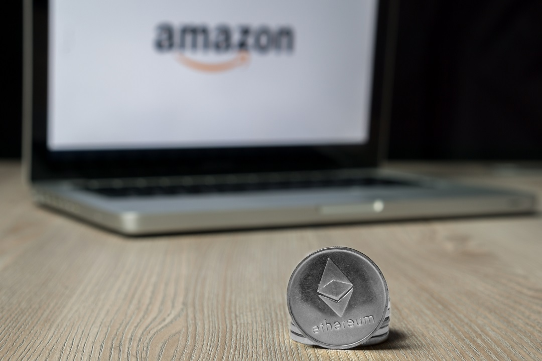Two startups for Ethereum (ETH) payments on Amazon