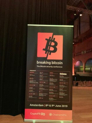 Breaking Bitcoin Amsterdam