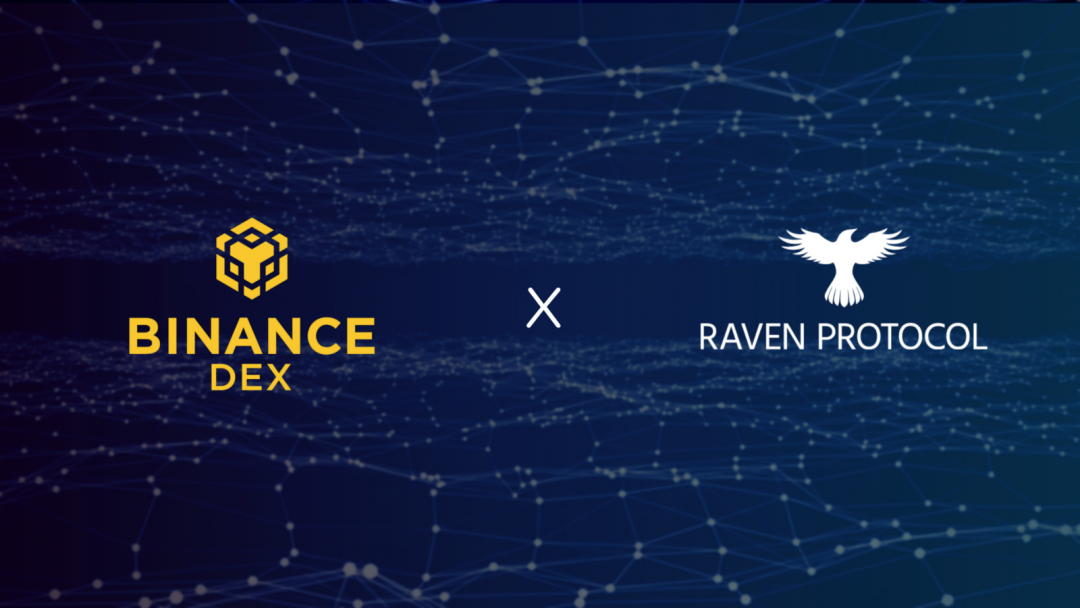 Raven arrives on Binance DEX today