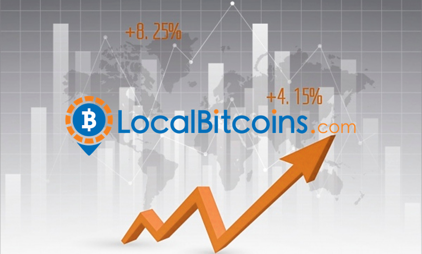 LocalBitcoins: growing volumes in Russia and South America