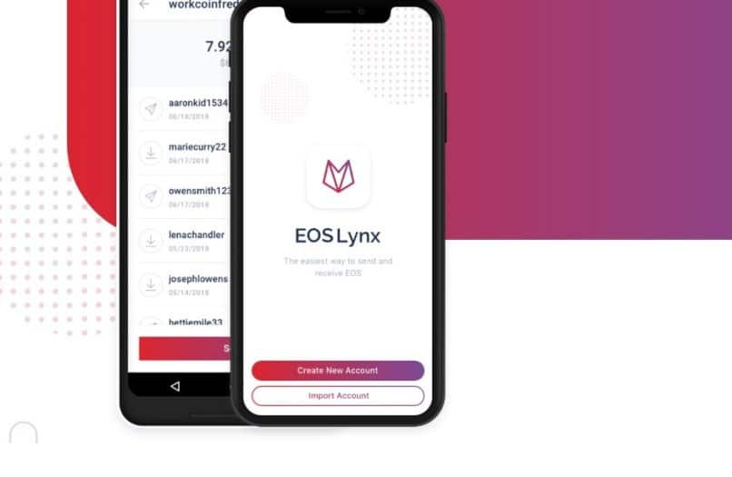 EOS Lynx: the EOS wallet for iOS and Android