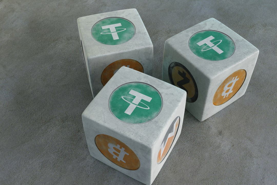 Tether exceeds bitcoin for trading volumes