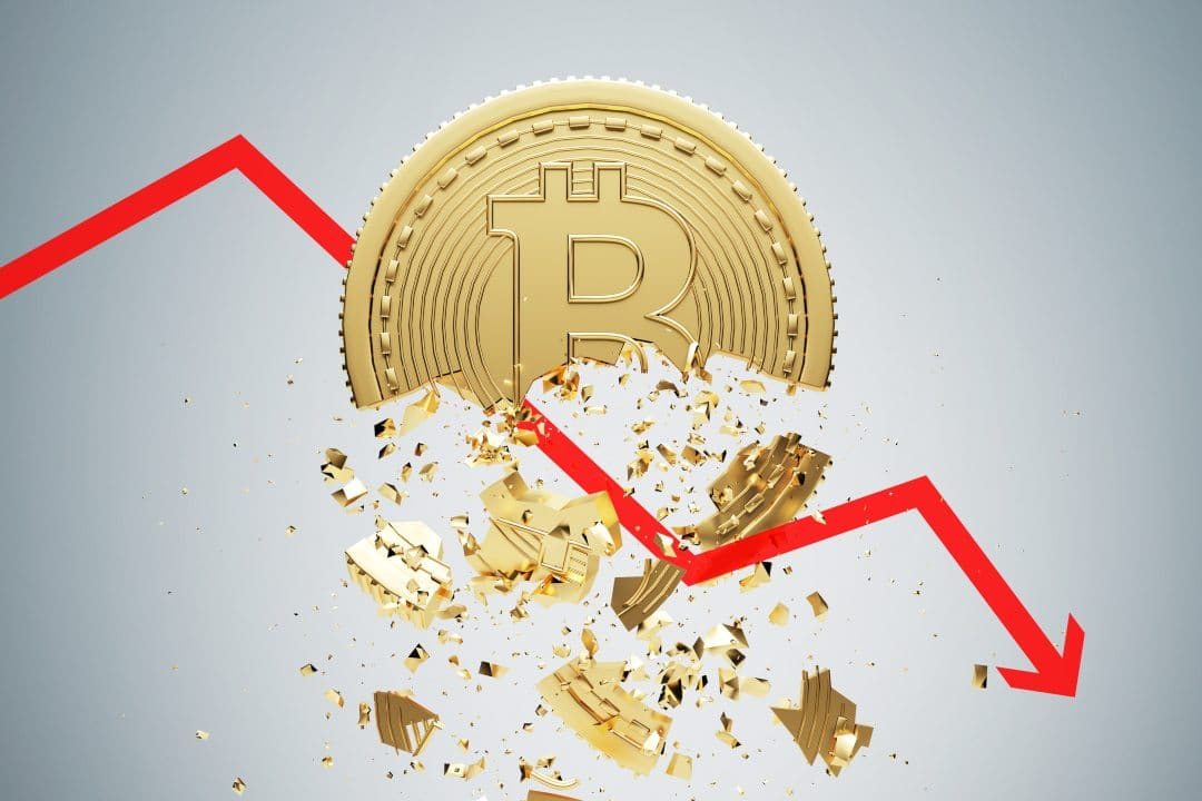 Bitcoin experiences a drop in price again