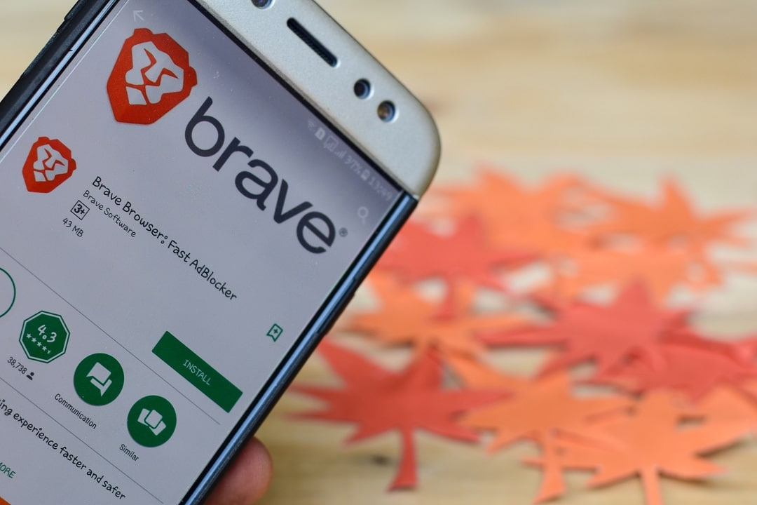The Brave browser allows withdrawing BAT tokens