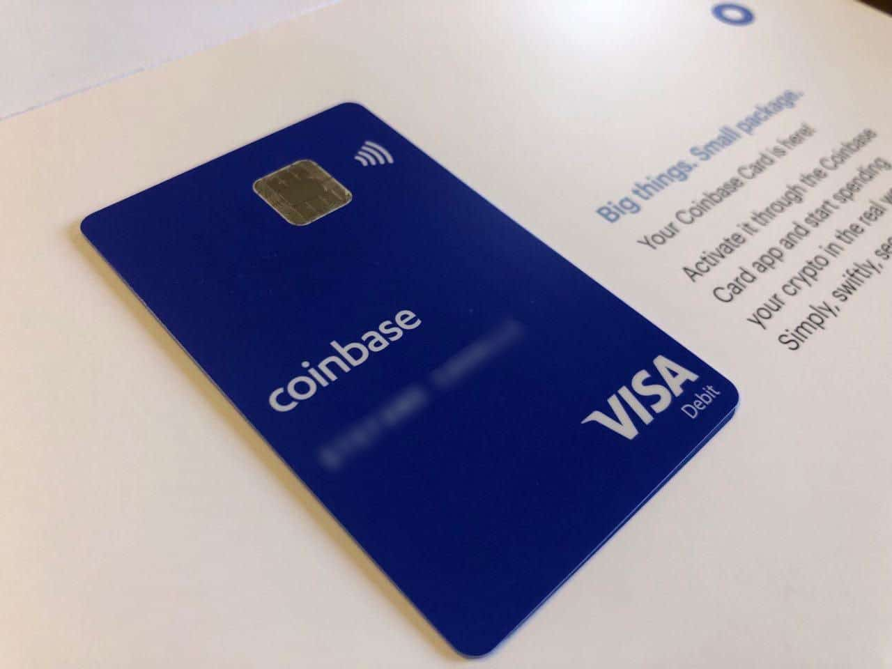 Coinbase Card: costs, fees and first impressions of the VISA card