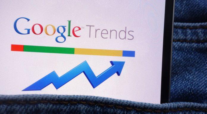 Google Trends shitcoin